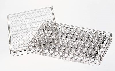 Costar 3799 96-Well Cell Culture Plates with lid, Round Well, Treated, sterile, 50/cs