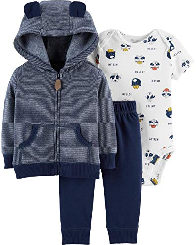 Carter's Baby Boys' Cardigan Sets (Newborn, ()