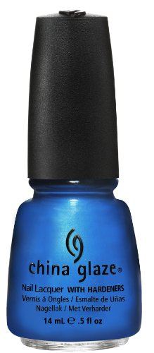 China Glaze Nail Polish, Splish Splash, 0.5 Fluid Ounce (La Splash Nail Polish)