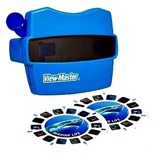 (View Master Classic Viewer with 2 Reels Marine Life Toy Package May Vary)