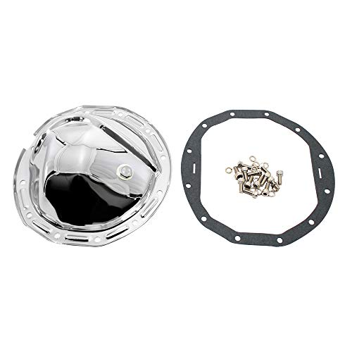 - Assault Racing Products A9584KIT GM 12 Bolt 8.875in Ring Gear Chrome Steel Rear Differential Cover Kit with Drain Plug