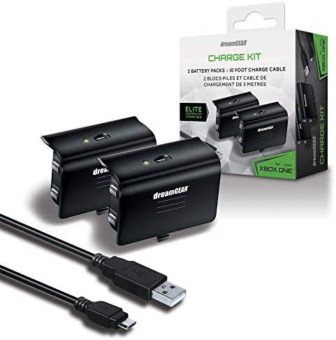 DreamGEAR DGXB1-6608 Kit de Carga para Xbox One - Standard Edition 3