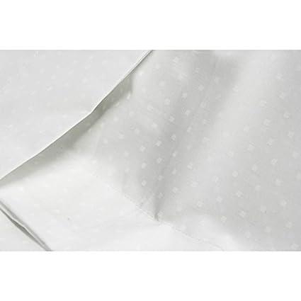Copripiumino 250 X 220.Complete Bedding Percale White Plumetis Copripiumino