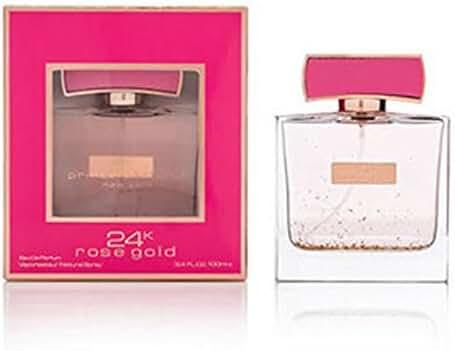 Prince Parfums 24K Rose Gold Eau de Parfum Spray, 3.4 Ounce
