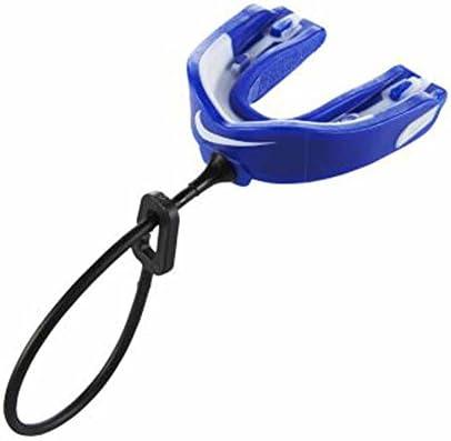Nike Hyperstrong マウスガード デュアルデンシティ保護 ブルー