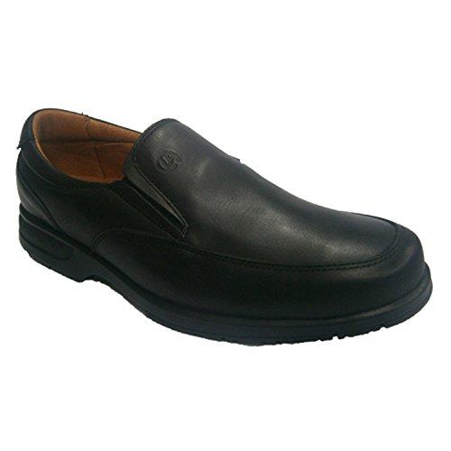 Serveur clayan chaussure de semelle en caoutchouc très confortable en noir Clayan en noir