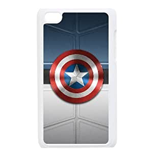 Ipod Touch 4 Phone Case for Captain America Classic theme pattern design GCTARCT785859