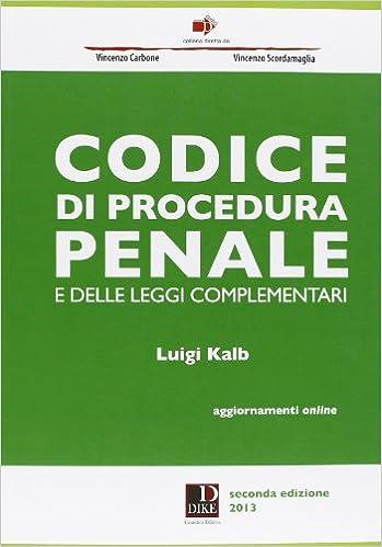 Codice Procedura Penale Pdf