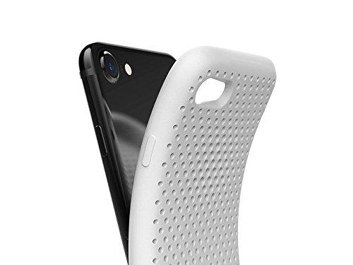 AndMesh Mesh Case Blanc - Coque haute résistance pour iPhone 7 / iPhone 8