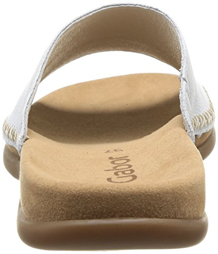Gabor Shoes Gabor - Zuecos para mujer White (White Leather)