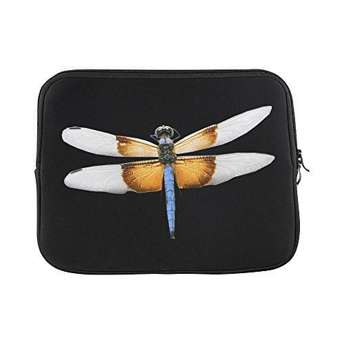 - Design Custom Dragonfly Skimmer Bug Insect Nature Flying Sleeve Soft Laptop Case Bag Pouch Skin For Macbook Air 11