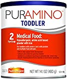 PurAmino Toddler Hypoallergenic Formula - Amino Acid based for Severe Food Allergies - Powder Can, 14.1 oz