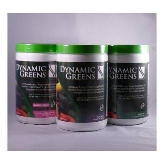 Динамический Зеленые клейковины бесплатно клубника / киви, Органические ж / Acai, Гоги, мангостин, Нони и Гранат супер фрукты по Nutri Дин