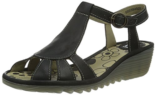 Nero Fly London Fly Black London Sandali 025 Donna w1qXgxa