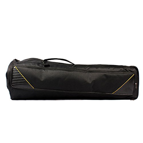 Dovewill Black Oxford Fabric Tenor Trombone Gig Bag Musical Instrument Protection Accessory by Dovewill (Image #5)'