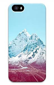 Snow Summit Cover Case Skin for iPhone 5 5S Hard PC 3D
