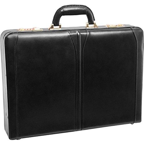 McKleinUSA LAWSON 80455 Black Leather Attache ()
