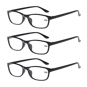 31649bad14b Bifocal Reading Glasses +2.50 Mens Womens Everyday Use Readers Eyewear  Black Classic Office Home Eyeglasses