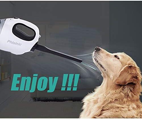 XHLLX Aspirateur De Voiture, Reduire Le Bruit Filtre Lavable Forte Aspiration 7.4 Batterie Au Lithium Être Applicable SUV/Maison/Bureau
