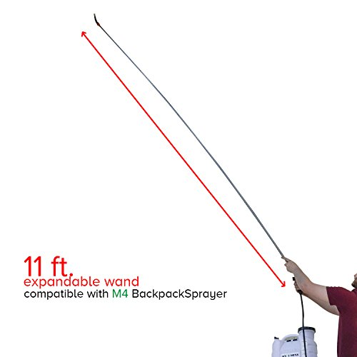 My 4 Sons 11-FT Telescoping Wand (Does Not Include Backpack Sprayer)
