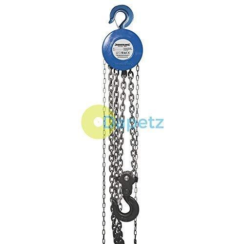 Dapetz® catena blocco 5000kg/3m altezza di sollevamento compatto e ideale per l' uso in area