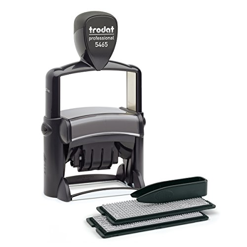 Trodat Professional 5465 Typomatic For Selbersetzen, Black by OfficeCenter