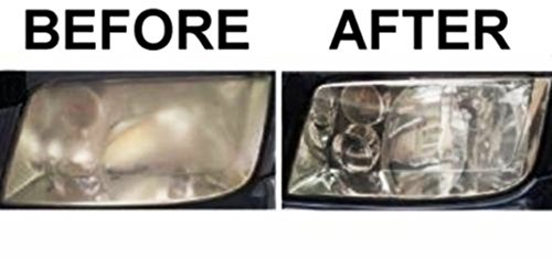 Headlight cleaner restorer repair erases