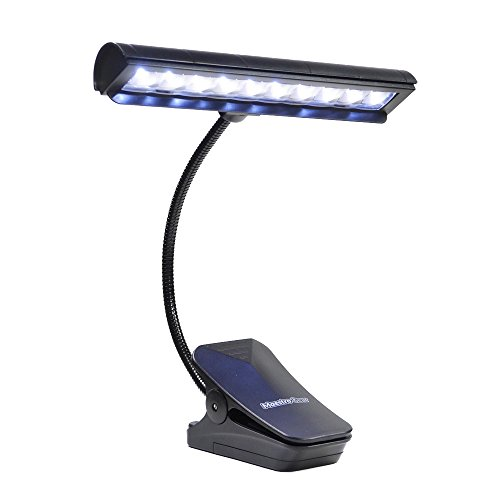 10 LED MUSIC STAND LIGHT / Orchestra Lamp / Piano Light by MAESTRO - 10' Lamp Piano