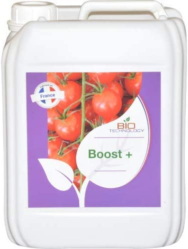 Bio Technology® | Fertilizante Aditivo para Floración | Acelerador de Madurez | Estimulador para Flores | Estimulador de Alto Rendimiento Boost + - 5 L