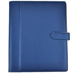 padfolio resume portfolio folder pu leather business portfoliolegal document organizer business card holder file pocketscalculatorexpandable