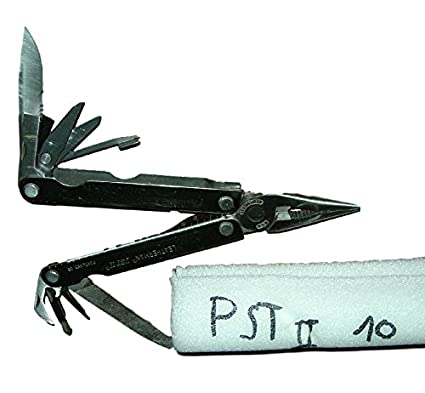 Alicate Multi uso leathermann PST2 Cassia o óxido il est garantía a vida