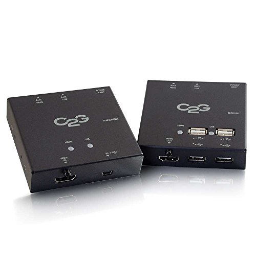 C2G/Cables to Go 29637 Short Range HDMI + USB Over Cat5 Extender by C2G/ Cables To Go