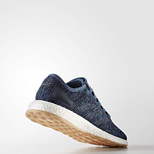 adidas Pureboost, Scarpe da Corsa Uomo, Blu (Azubas/Lino/Maosno), 44 EU