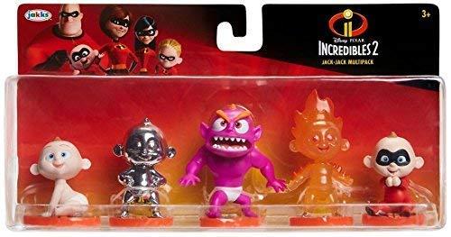 The Incredibles Baby Jack (Pixar Incredibles 2 Jack - Jack Multipack)