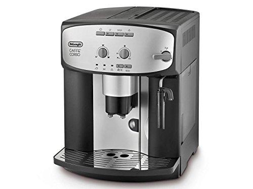 Delonghi ESAM2800SB Caffe Corso Super Fully Automatic Espresso Machine Coffee Maker, Silver Black - Delonghi Caffe