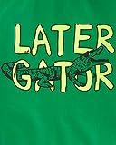 Carter's Boys' Toddler Rashguard, Leather Gator, 5T