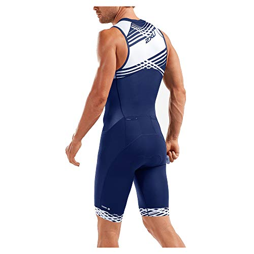 Lines 2xu Compression 2019 Blue White Men navy White Navy fqPw8f