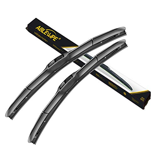 ABLEWIPE Windshield Wiper Blades Hybrid Front Window 19