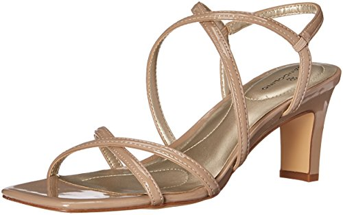 Pictures of Bandolino Women's Obexx Heeled Sandal Dark Pink 1