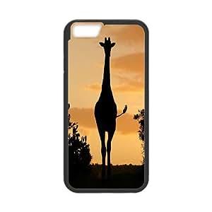 "Custom Giraffe Case Cover, Custom Protective Cover Case for iPhone6 Plus 5.5"" Giraffe"