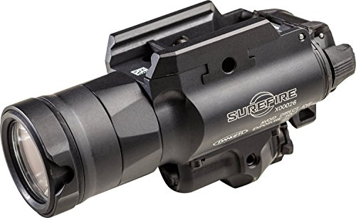X400UH Ultra Weaponlight with MasterFire RDH Interface, 600 Lumens, Red Laser, Anodized -