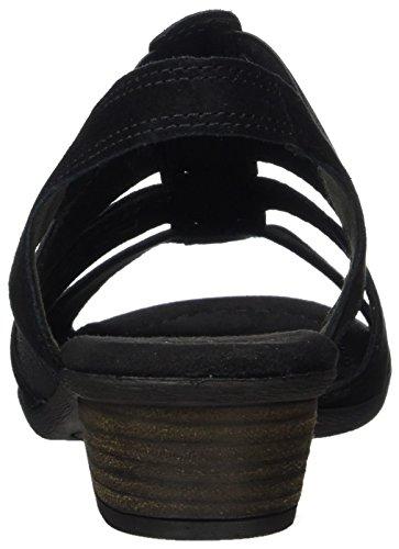 62 Gabor Schwarz 47 Sandalias Negro Mujer 472 Shoes 75wHq5fA