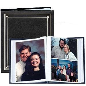 Post-Bound Black pocket album for 5x7 and 8x10 prints - 5x7 by Pioneer Photo Albums