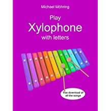 Play Xylophone with letters (German Edition)