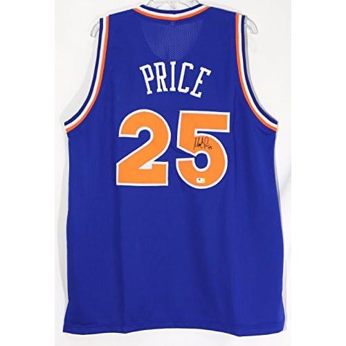 reputable site 7fec1 11348 Mark Price Cleveland Cavaliers Signed Autographed Blue #25 ...