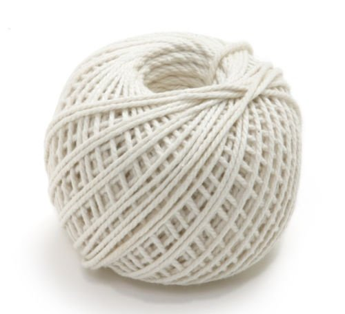 100% Cotton Butchers Meat Trussing Twine String 220' by Garden Twine