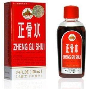 Zheng Gu Shui Lotion Analgésique externe - 100 ml (3,4 Fl. Oz.).