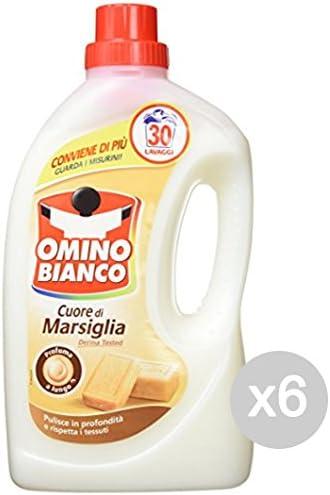 Set 6 OMINO BIANCO 30/26 Jabón De Marsella Lavadora Lavadora Y ...