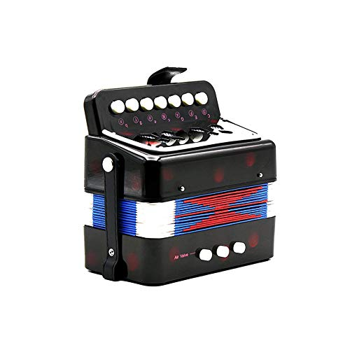 1PC Mini Kids Accordion 7-Key 3 Bass Educational Childrens Beginner Practice Music Instrument Band Toy by Quannaus (Image #4)