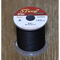 Hitena STWRAP Rod Wrapping Thread - Nylon Winding Thread. Wraps Super Easy. Sits Perfect Flat. Consistent Tension. Less…